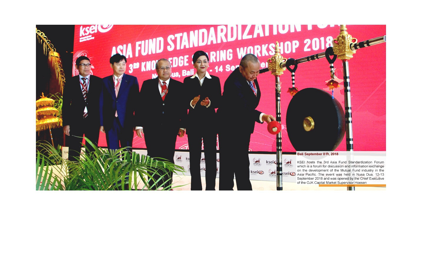 The 3rd Asia Fund Standardization Forum
