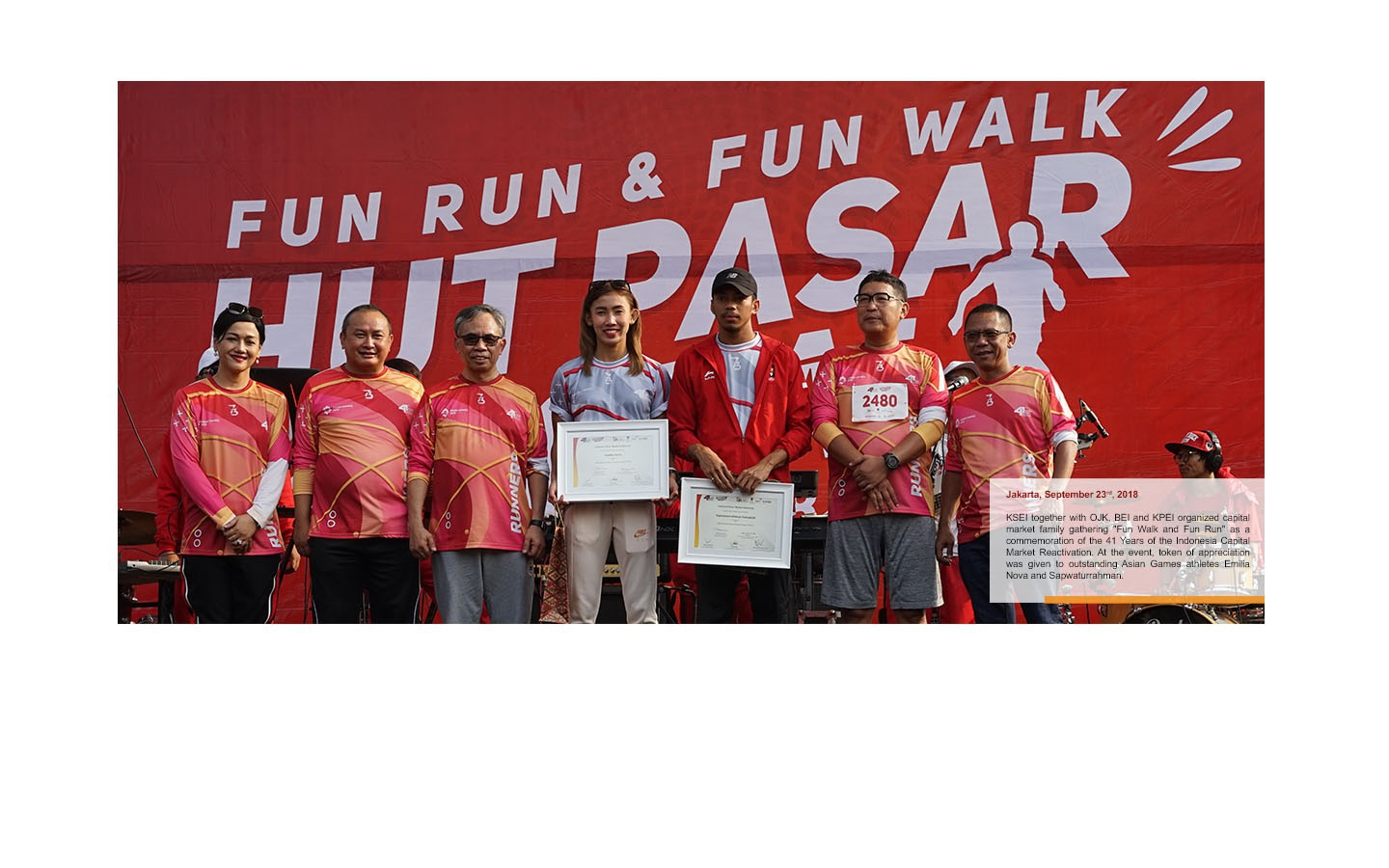 Fun Walk Fun Run HUT Pasar Modal 41